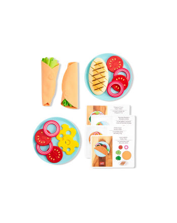 Leke, Skip Hop, Zoo - Little Chef Meal Kit