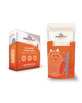 Oppbevaringspose til brystmelk, Thermobaby, 25 pk.