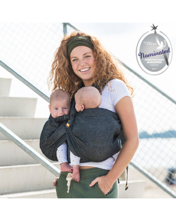 Bæreslynge, Mini Monkey- Baby Carrier Twin, Mesh