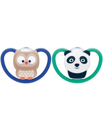 NUK, Smokk, Silicon, Ugle/Panda, 18-36 mnd