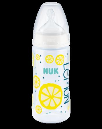 Flaske, NUK, Fruits, Gul, 300ml