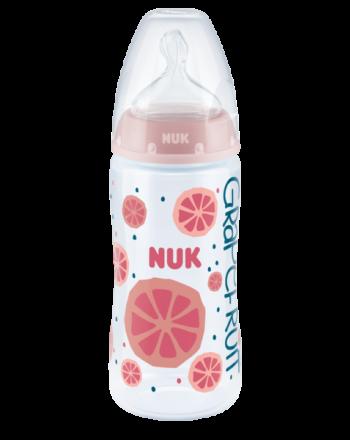 Flaske, NUK, Fruits, Rosa, 300ml
