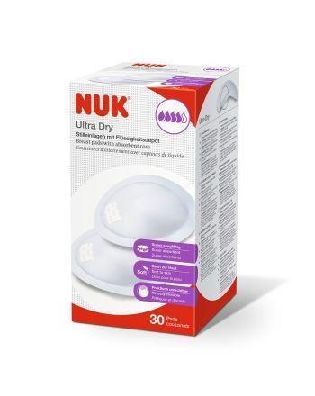 Ammeinnlegg, NUK, Ultra Dry, 30 stykk