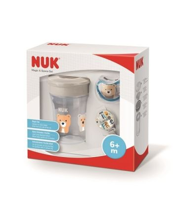 NUK Magic & Space Set, White