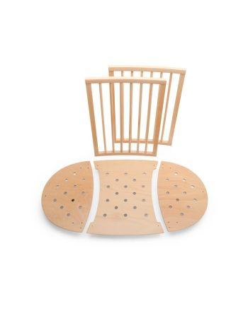 Forlenger, Sleepi Mini Bed Extension, Stokke®,Natur