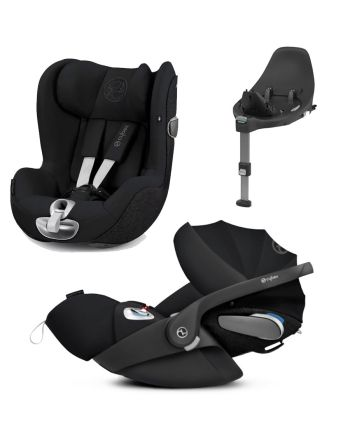 Premiumpakke, Cybex Cloud Z og Sirona Z + Base Z - Deep Black