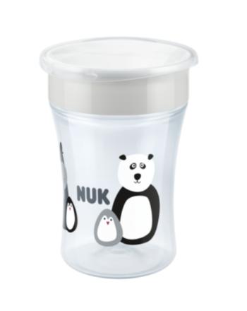 NUK, Evolution Magic Cup - Limited Edition, Monokrom, Hvit