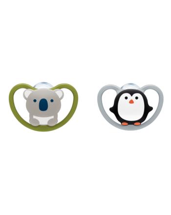 NUK, Smokk Limited Edition Monokrom, 6-18mnd- Koala/Pingvin