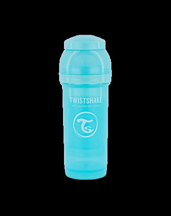 Flaske, Twistshake, Anti-Colic - 260ml, Pastell Blå
