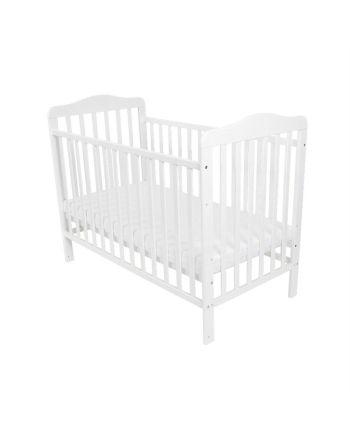 Andrea sprinkelseng, BabySleep, 60x120 cm, Hvit