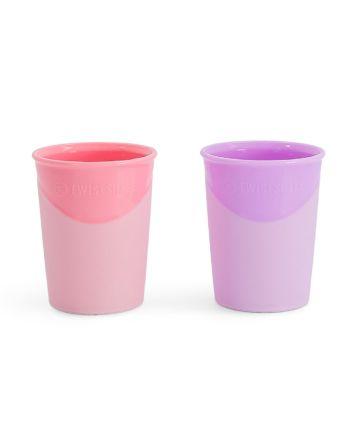 Drikkekopp, Twistshake, Pastell Rosa/Lilla, 2pk