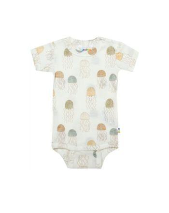 Joha - Body w/short sleeves - Offwhite - Jellyfish