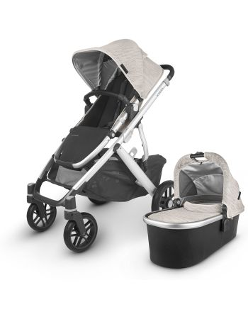 UPPAbaby VISTA V2 -SIERRA (dune knit/silver/black leather)