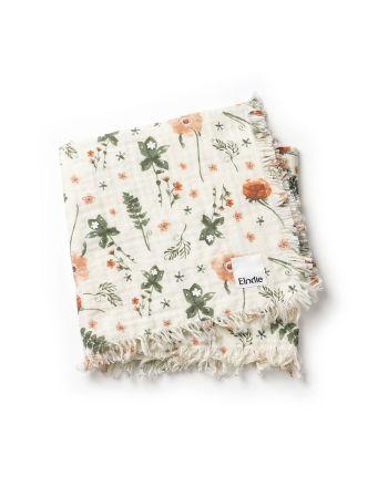Elodie, Myk bomullteppe - Meadow Blossom
