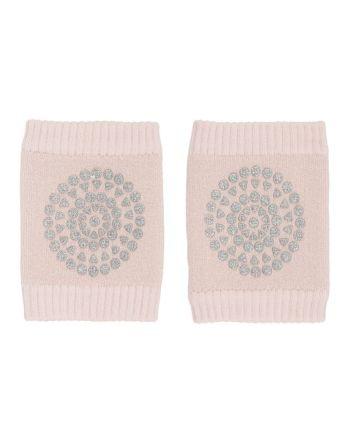 GoBabyGo, Kneepads - Soft Pink Glitter - One Size