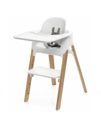Pakke, Stokke® Steps Natural Oak + Baby Set + Tray