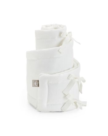 Sengekant, Sleepi mini Bumper, Stokke®, Hvit, 25x234 cm