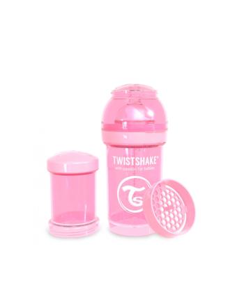 Flaske, Twistshake, Anti-Colic - 180ml, Pastell Rosa