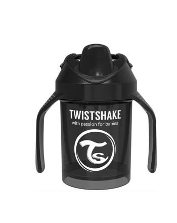 Mini Kopp, Twistshake, Black - 230ml, 4+m