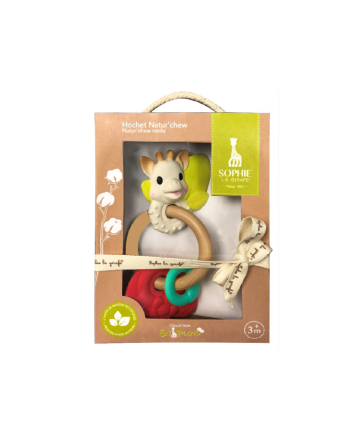 Biteleke, Sophie La Girafe, So pure natur'chew rattle
