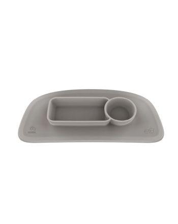 EZPZ by Stokke silikonmatte Stokke tray, Soft Grey