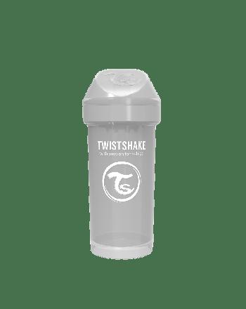 Tutekopp, Twistshake, 360ml, Pastell Grå, 12+m