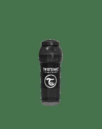 Flaske, Twistshake, Anti-Colic - 260ml, Sort