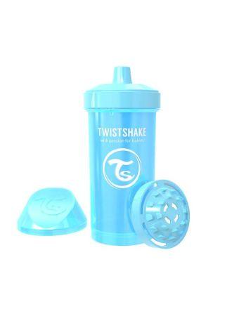 Tutekopp, Twistshake, 360ml,  Pastell Blå,12+m