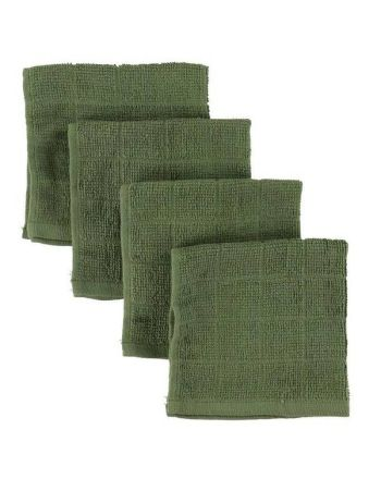 Vaskeklut, Pippi, Green , 4pk