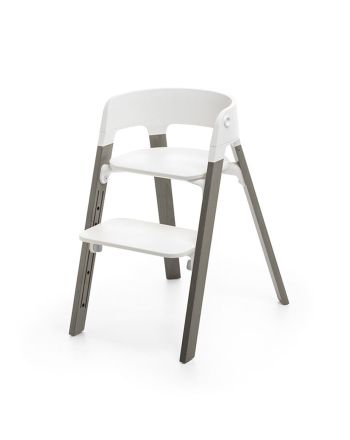 Stokke® Steps White, Hazy Grey