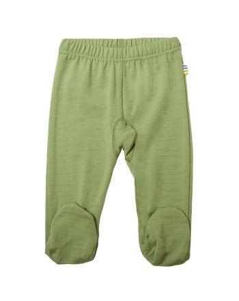 Leggings m/fot, Joha, Grønn