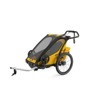 Sykkelvogn, Thule, Chariot Sport 1, Spectra Yellow